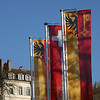 Flags of Switzerland and Geneve