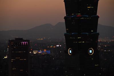 Taipei City Skyline