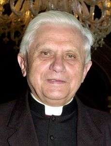 ** FILE ** Cardinal Joseph Ratzinger of Germany, who became the new Pope at the Vatican Tuesday April 19, 2005, is seen in this 2001 file photo. Ratzinger will be Pope Benedict XVI.  (AP Photo/Luca Bruno)