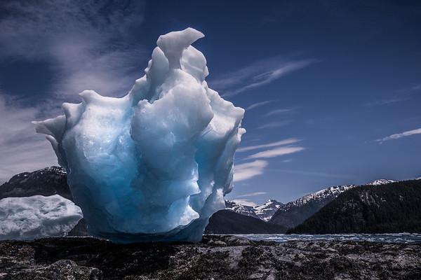 Stranded LeConte Iceberg