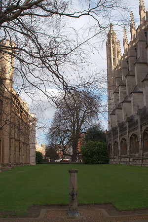Side view of King's College Chapel