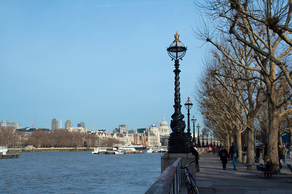 A nice view from the south bank margin