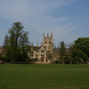Merton College as seen from the Christ Church Meadow