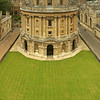 The Radcliffe Camera - in a vertical panorama