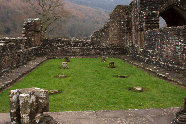Ruins of a hall