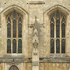 Window detail of Winchester Cathedral