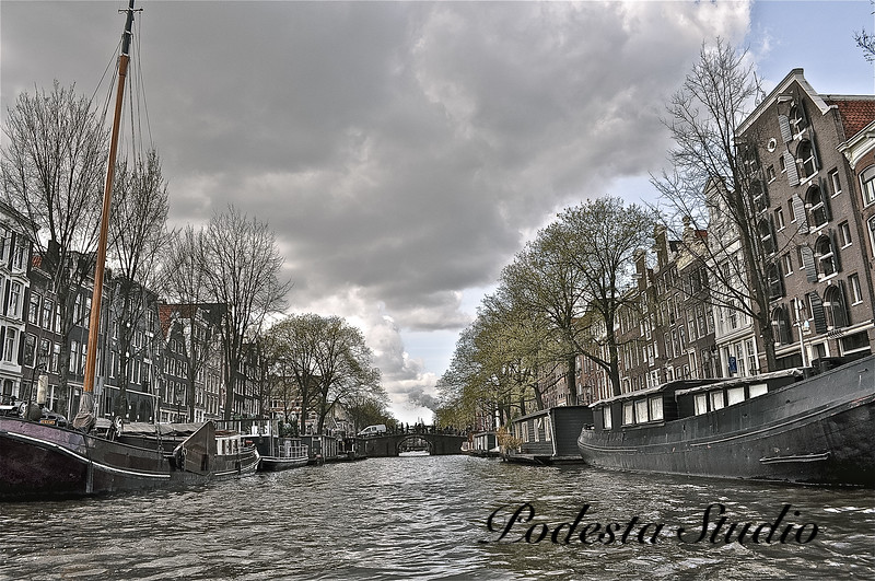 Storm Clouds Over Amsterdam