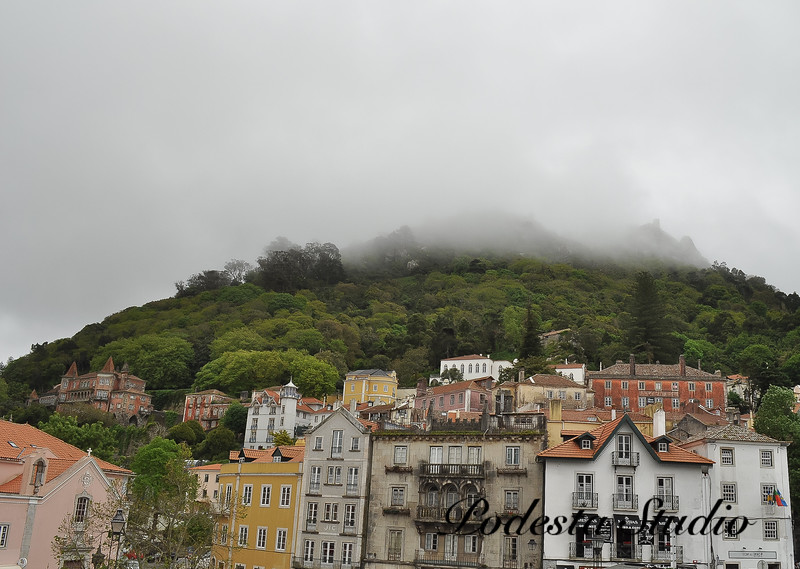 Magical fog drifts over Sintra