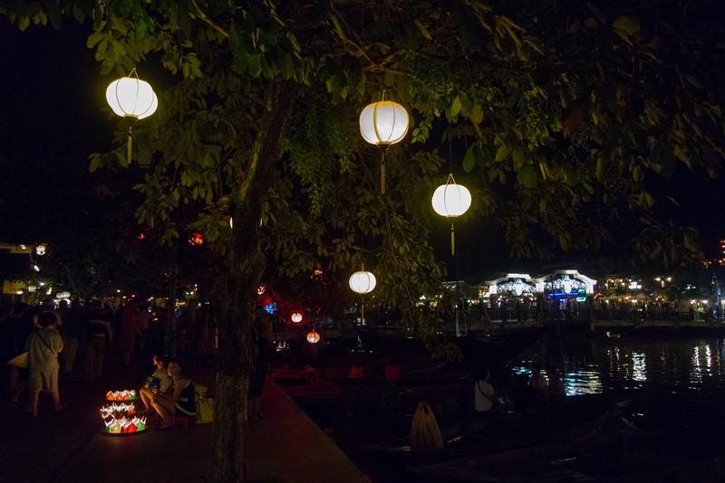 Hoi An at night.