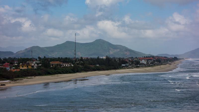 Coastline south of Hue.