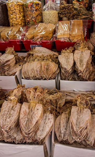 Dried squid, Ben Than Market, Ho Chi Minh City.