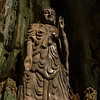 Buddha Statue inside a cave, Marble Mountain.
