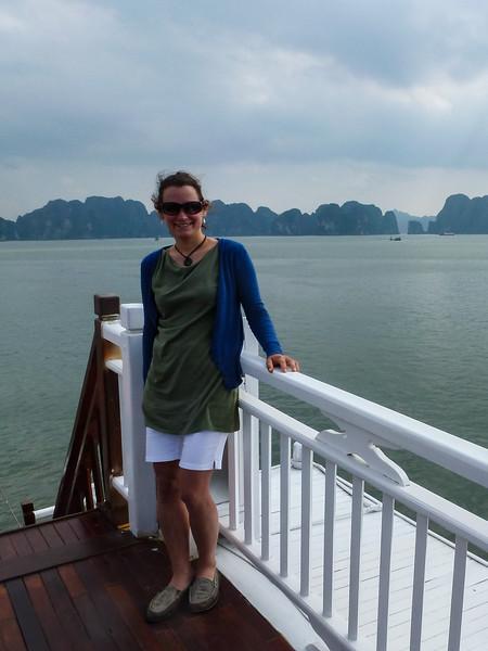 Halong Bay Cruise.