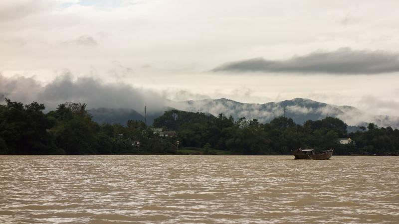 Perfume River - Hue.