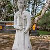 Mandarin statue guarding Emperor Tu Duc's Royal Tomb, Hue.