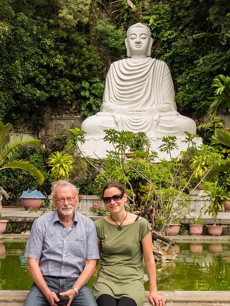 Buddha statue, Marble Mountain.