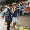 Tourist trap, but makes for a nice photo - Hanoi (photo - Guenter Dickerhof).