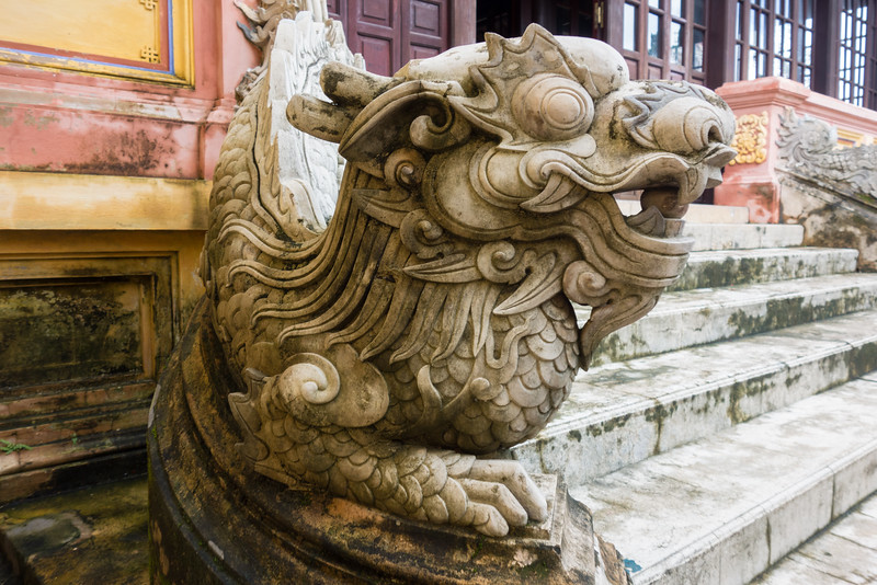 Dragon stairs, Nguyen dynasty Imperial Palace - Hue