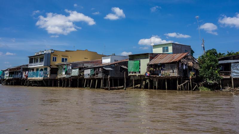 Mekong Delta houses.