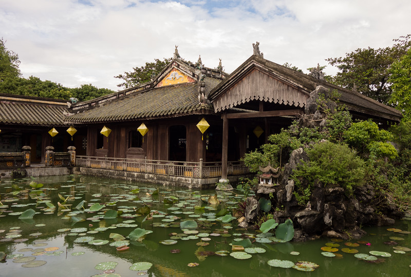 Tea house near the  Emperor Tu Duc's Royal Tomb, Hue.