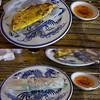 Cooking school to make Vietnamese pancakes  - delicious.