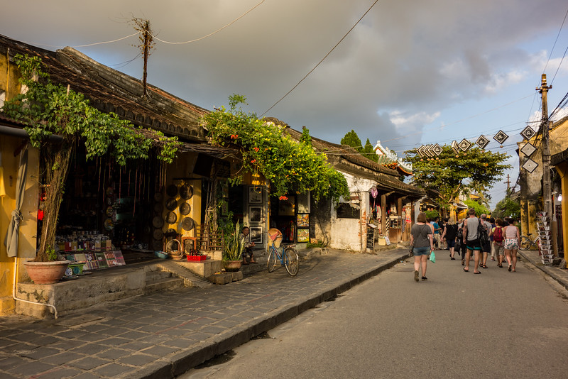 400 year old shops, Hoi An.