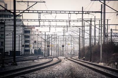 Opfikon Train Station