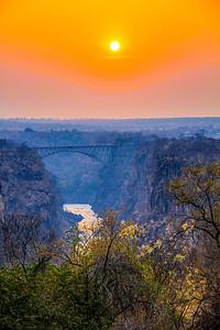 Victoria Falls Sunset ~ Zimbabwe
