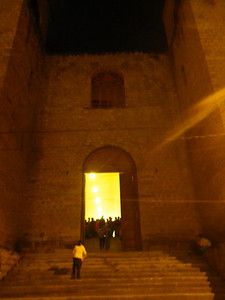 caraz church on xmas eve