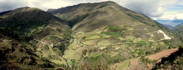Huanaco onwards- delightful road