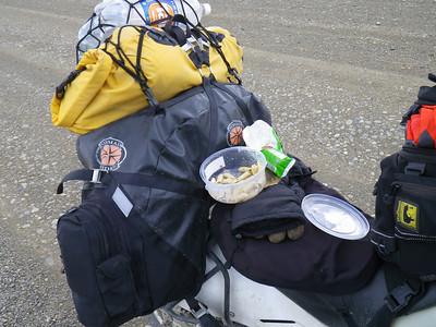 lunch by the roadside