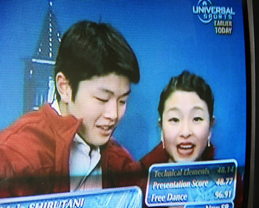 2011 Shibutanis Worlds Kiss and Cry