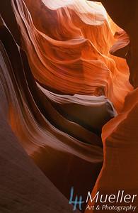 Antelope Canyon - Layers