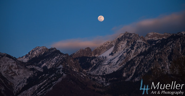 Wasatch Moonrise