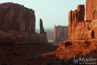 Courtyard at Arches National Park