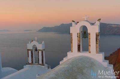 Santorini Bell Sunrise 257