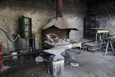 Blacksmiths corner, Amman shed - 10/05/17.