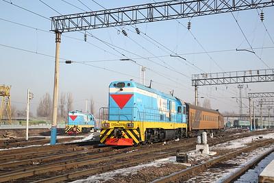 KTZ CKD6E-2019 & CKD6E-2016, Almaty-2, shunting ECS - 10/01/18