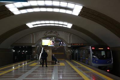 Raiymbek Batyr metro station, Almaty - 10/01/18