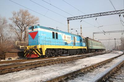 KTZ CKD6E-2021, Almaty-2, shunting ECS - 10/01/18