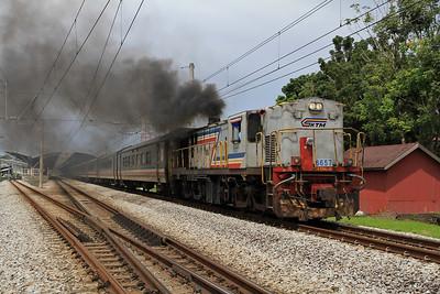 Malaysian Railways, 28th November-5th December 2010
