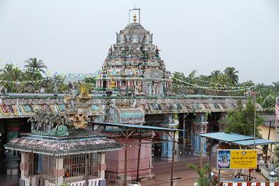 Hindu temple at Slim River - 28/11/10