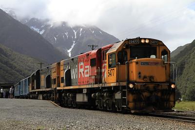 New Zealand Railways, 10th-27th November 2011