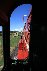 View from the cab of GVR 8 (DE507) as we approach Manor Road  - 10/11/2011.