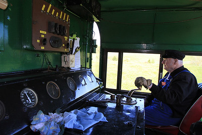 View of the rather rustic cab of GVR 8 (DE507)  - 10/11/2011.