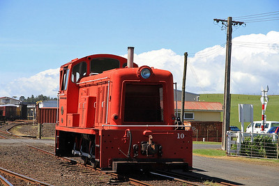 GVR 10 outside the shed at Pukeoware  - 10/11/2011.
