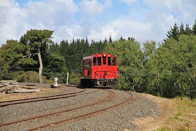 GVR 8 (DE507) runs round at Victoria Avenue  - 10/11/2011.