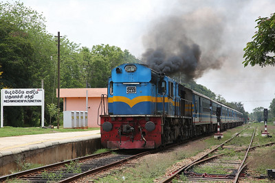 Sri Lankan Railways, 19th-29th April 2019