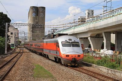 TRA E1029 arr Yuanlin, 123 11.28 Qidu-Pingtung - 11/05/14