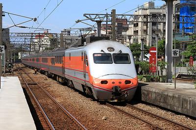 TRA E1048 arr Shulin, 106 05.50 Chiayi-Qidu - 11/05/14